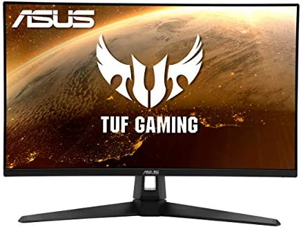"""ASUS TUF Gaming VG279Q1A 27"""" Gaming Monitor, 1080P Full HD, 165Hz (Supports 144Hz), IPS, 1ms, Adaptive-sync/FreeSync Premium, Extreme Low Motion Blur, Eye Care, HDMI DisplayPort"""