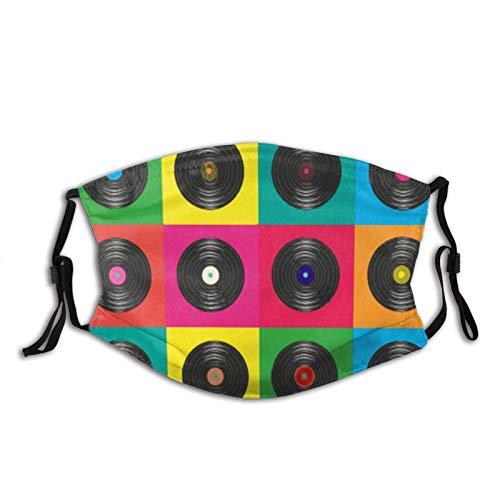 Geschenk Gute Musik hat kein Verfallsdatum Staub Gesichtsabdeckung Waschbar Einstellbar Ersetzbar Durch Filter Adult 1 PCS Schwarz
