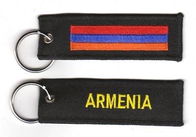Schlüsselanhänger Armenien Anhänger Fahne Flagge NEU