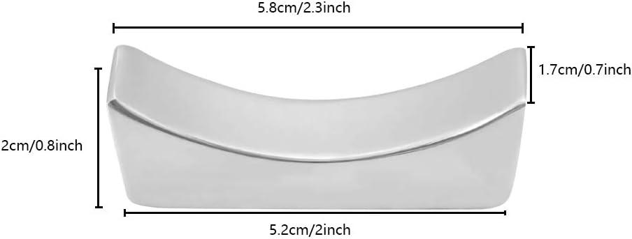 gadget de cuisine pour la maison argent le restaurant support de cuill/ère support de couteau support de fourchette support de vaisselle Lot de 3 supports de baguettes en acier inoxydable