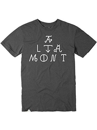 ALTAMONT t-Shirt pour Adulte avec Logo Medium Gris - Cendre