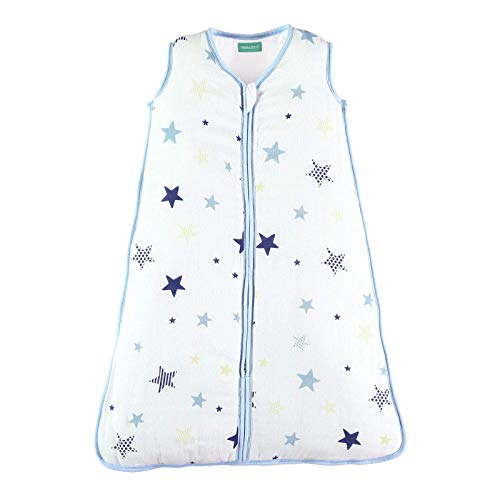 Wearable Blanket for Baby,Super Soft and Warm Muslin Baby Sleep Bag and Sack, 2-Way Zipper Easy for Diaper Change,2.5 TOG Padded, Sleeping Bag for Unisex 6-12 Months. 30.3'' Infant