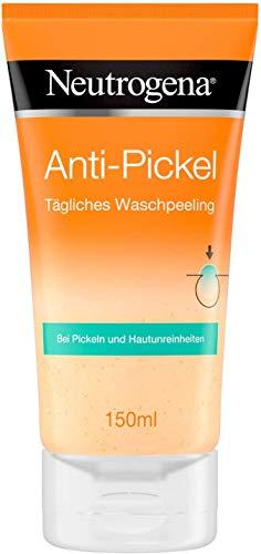 Neutrogena Visibly Clear Anti-Pickel Tägliches Waschpeeling – Peeling für das Gesicht gegen Pickel – 1 x 150ml