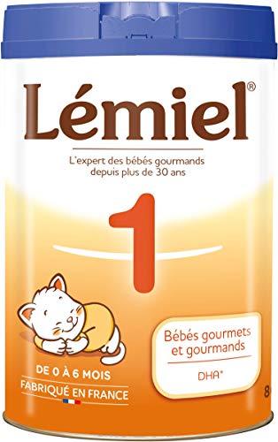 LEMIEL - Lait 1er âge en poudre de 0 à 6 mois* 800g - Fabriqué en France