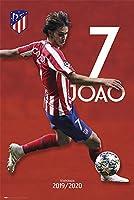 Atletico Madrid FC Poster Joao Felix 27 / アトレティコ・マドリードFCのポスタージョアンフェリックス27