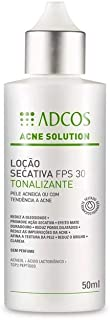 Adcos Acne Solution Loção Secativa FPS30 Tonalizante 50ml