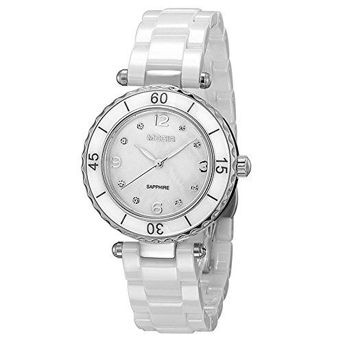 ZHFC-damenuhr mode zeitlose design - klassiker freizeit - quarz - uhr, saphir kristallglas - spiegel,c