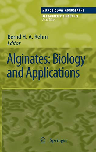 Alginates: Biology and Applications: 13 (Microbiology