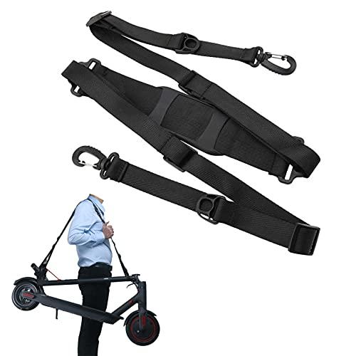 Timertick Bandoulière Réglable pour Trotinette Electrique,Sangle Transport E-Scooter pour Xiaomi M365,Shoulder Strap pour Scooter,Vélo,Chaise Pliante