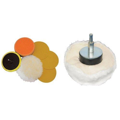 Silverline 107912 Accesorios para lijado y pulido