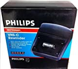 PHILIPS (for Compact CAMCORDERS ONLY VHS-c (Compact VHS Tape) rewinder. Helps Prolong Your Camcorder Life. Rewinds Tapes in Two Minutes. Auto Shut Off.