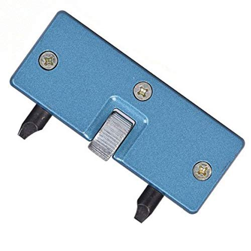 Professional Adjustable Rectangle Watch Back Case Cover Opener Remover Wrench Repair Kit, Watch Back Case Press Closer Removal Repair Watchmaker Tool