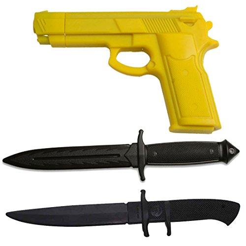 Blades USA 3200YL TRAINING PISTOL, 3201, E420-PP TRAINING KNIFE SET