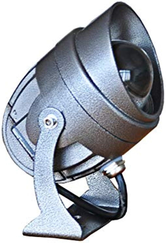 XEX LED Strahler Mit, Spotlight Langstrecken Landschaftslicht Farbe Spotlight Outdoor Wasserdichtes Sicherheitslicht (Farbe   rot Light)