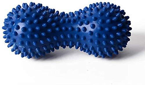 ZHENYUE Yoga Zubehör Thorns Massage Peanut Handball Gymnastikball aufgeblasene Airbag Fersensporn, Triggerpunkt, Deep Tissue, Myofascial Freigabe, B (Color : B)