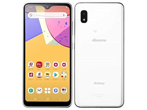 SIMフリー docomo Galaxy A21 SC-42A ホワイト スマートフォン本体