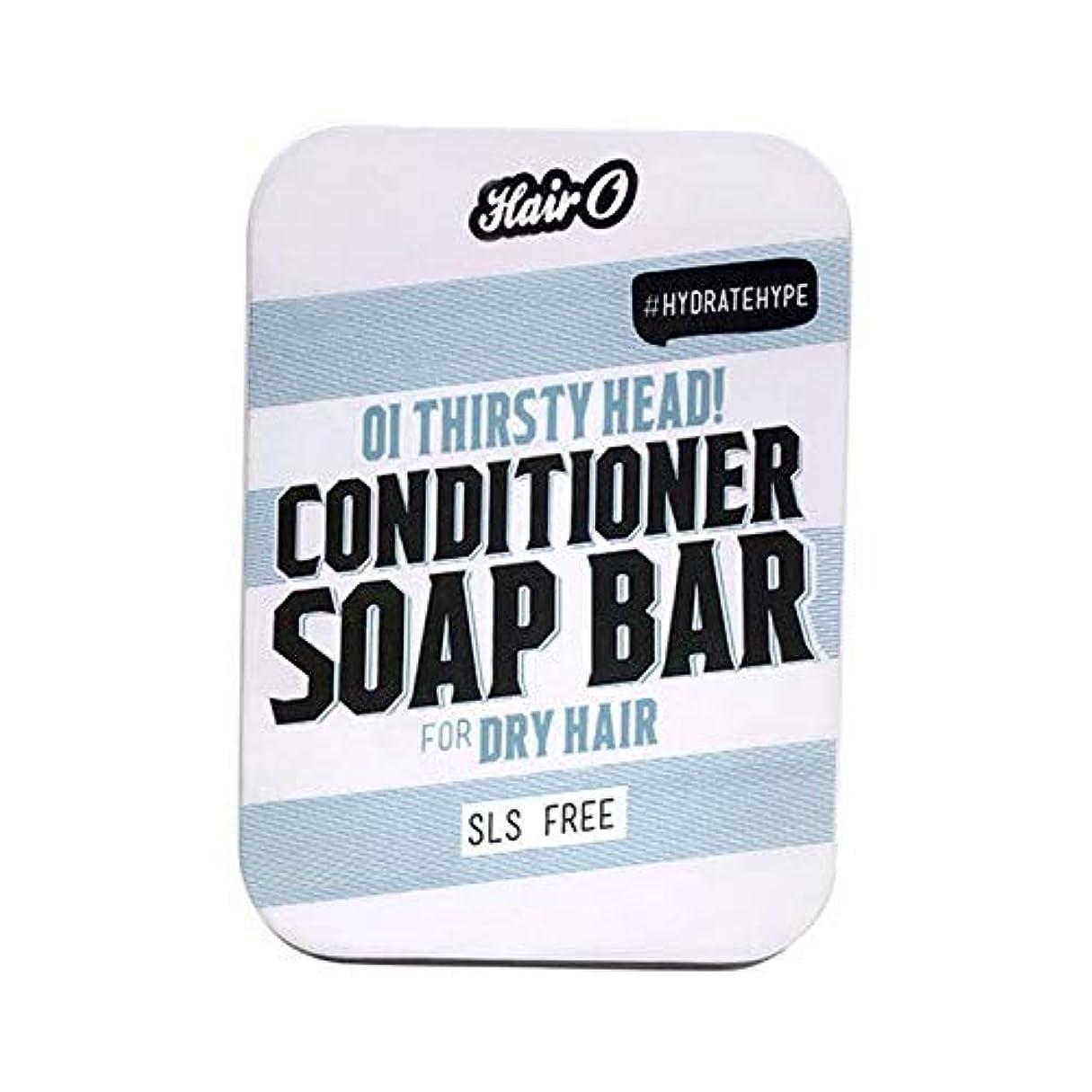 こどもセンター高めるくつろぐ[Hair O ] 大井のどが渇いヘッドコンディショナーソープバー100グラムO毛 - Hair O Oi Thirsty Head Conditioner Soap Bar 100g [並行輸入品]