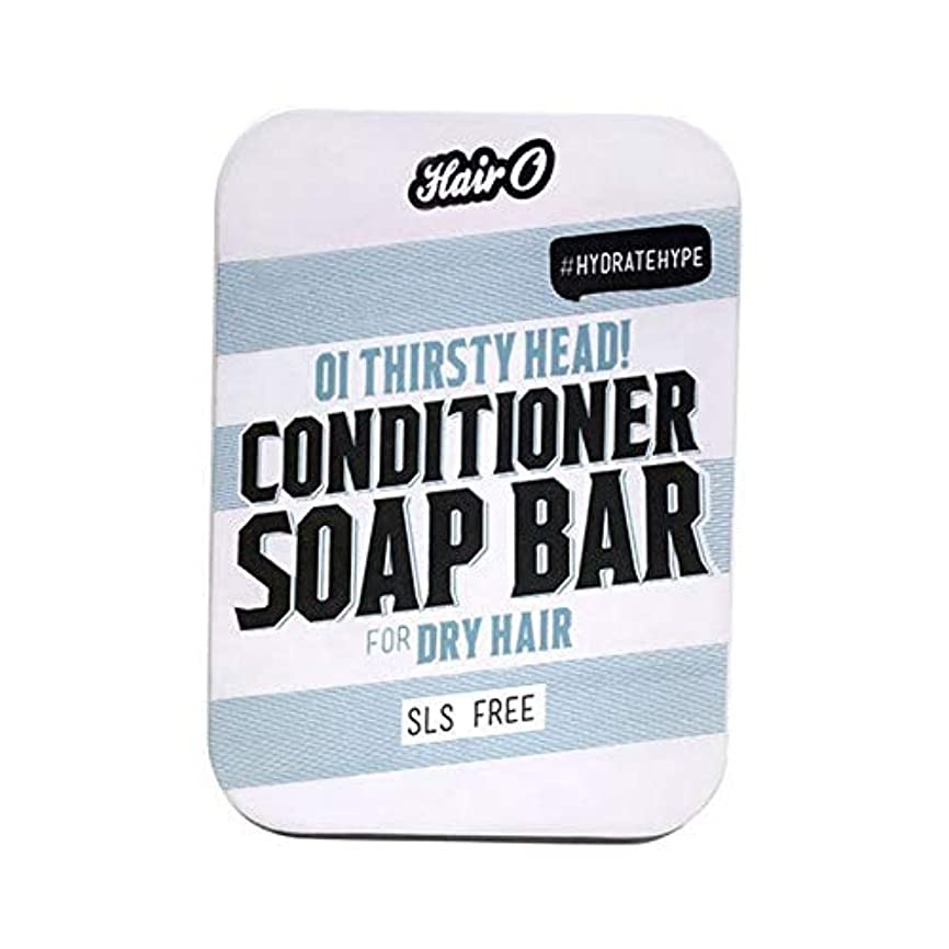 アリハリケーン結び目[Hair O ] 大井のどが渇いヘッドコンディショナーソープバー100グラムO毛 - Hair O Oi Thirsty Head Conditioner Soap Bar 100g [並行輸入品]
