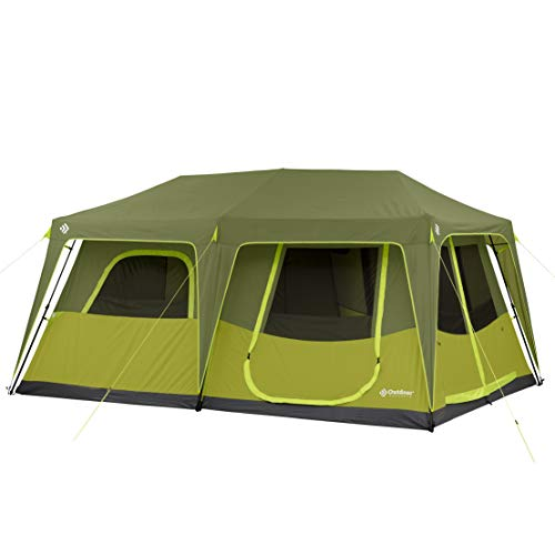 Outdoor Products 4 Person / 6 Person / 8 Person / 10 Person Instant Cabin Tent (10 Person)