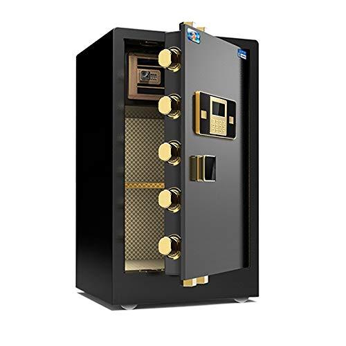 MAATCHH Caja Fuerte de Gabinete Seguridad Electrónica Segura Digital Caja a Prueba de Fuego en la Pared Anclaje Caja de Seguridad for la joyería Dinero en Efectivo para el Negocio en casa