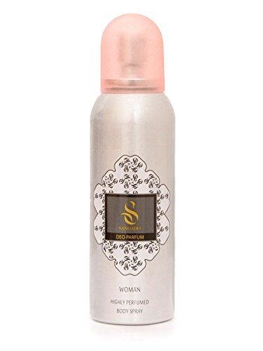 SANGADO lelietje parfum deodorant-spray voor dames, luxe geurend, aluminium vrij, zonder gecomprimeerde gassen, fijne Franse essences, geconcentreerd, langdurig, bloemige geur, 150 ml