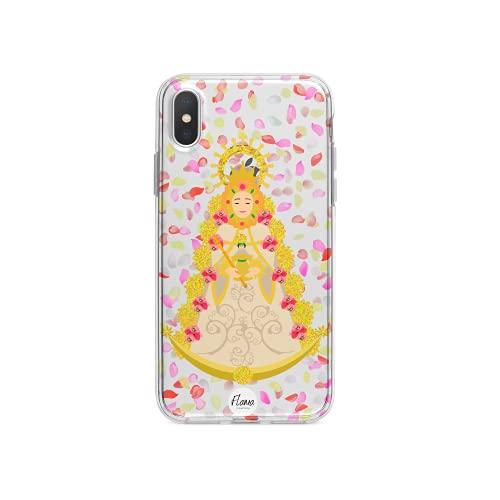 Flama Colección Funda Carcasa para móvil del Rocío - Petalá Virgen del Rocío - Colección El Rocío (Samsung S7)