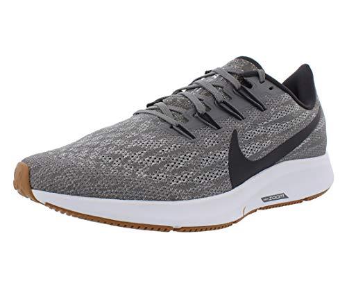 Nike Men's Air Zoom Pegasus 36 Running Shoes (11 D US, Gunsmoke/Oil Grey/White)