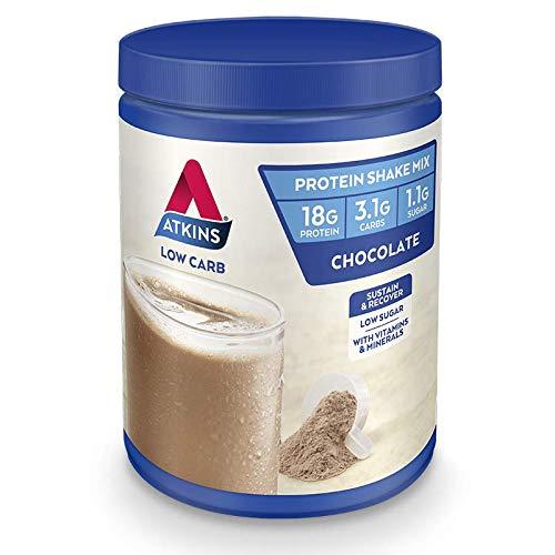 Atkins Low Carb Protein Shake Mix Chocolate, 330 grams