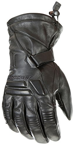 Joe Rocket - 1344-1004 Wind Chill Men's Cold Weather Motorcycle Riding Gloves (Black, Large)