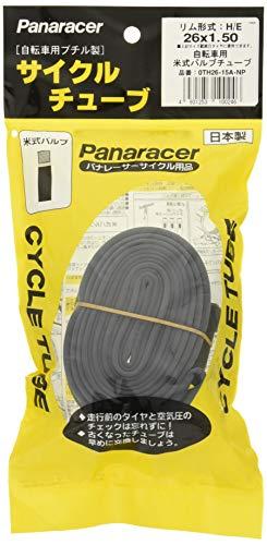 パナレーサー(Panaracer) 日本製 チューブ [H/E 26x1.50] 米式バルブ 0TH26-15A-NP