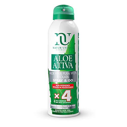 Natur Unique - Aloe Vera Pura 99,9 % Titolata Spray&GO