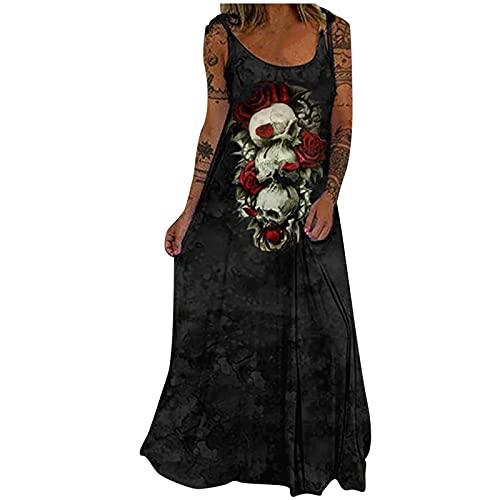 Nuevo 2021 Vestidos largo para Mujer, Fiesta Moda Vestido de Cóctel Vestido de Noche gótico Estilo oscuro...
