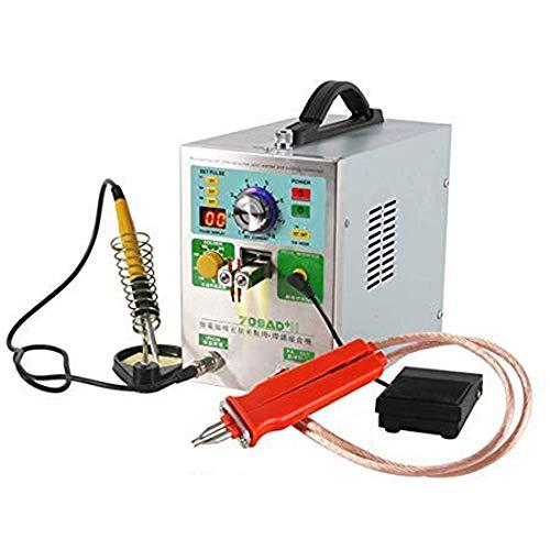 WMG&BB Machine de soudage 110V, Stylo de soudage Manuel par Points, kit de Stylo de soudage par Points pour Batterie par impulsions Convient au soudage de différents matériaux au Nickel