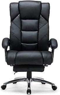 SMLZV Ejecutivo giratoria ajustable silla giratoria de oficina con brazos soporte lumbar escritorio silla ergonómica sillas reclinables giratoria jefe Silla de oficina silla de aluminio piernas se aju