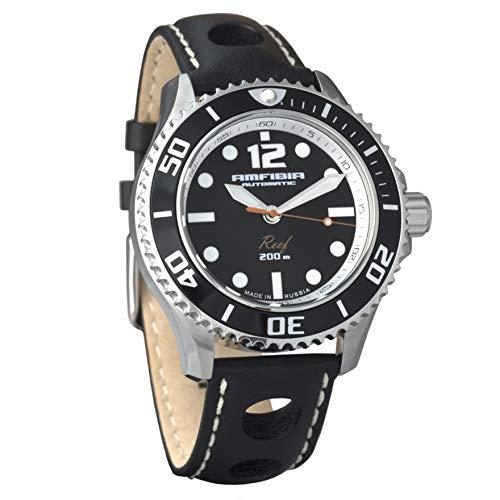 Vostok Amfibia Russian Mens Automatic WR200m Wrist Watch (080495)