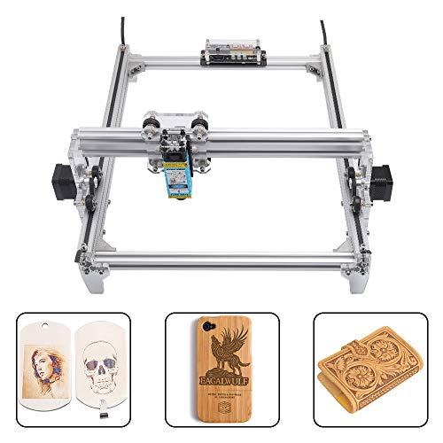 TOPQSC Lasergravur Maschine Kit, DIY Desktop Drucker Logo Bild Kennzeichnung Drucker, 12 V USB Holzschnitzerei Gravur Schneidemaschine
