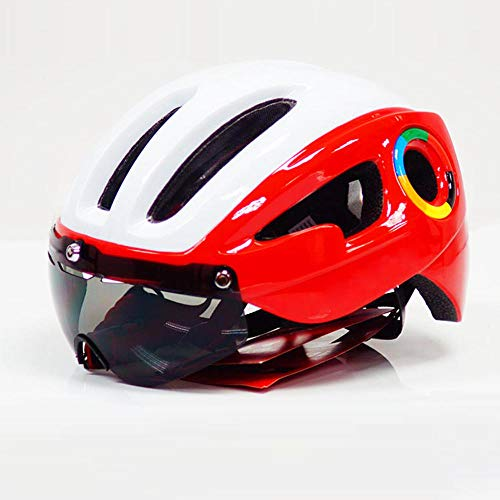 Casco de Bicicleta Ultraligero de 230g, Bicicleta de Carretera, Casco Am XC...