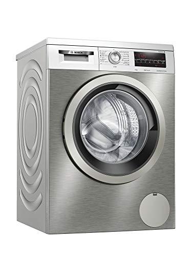 Bosch WUU24T7XES Serie | 6 - Lavadora Carga Frontal, Libre instalación, capacidad de carga superior, 9 kg, color Acero Inoxidable