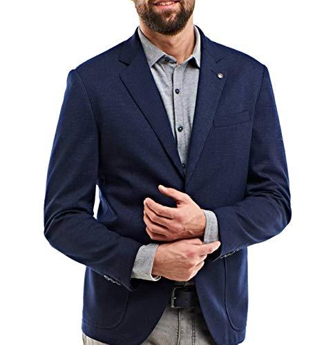 engbers Herren Freizeit-Sakko Slim fit, 25055, Blau in Größe 60