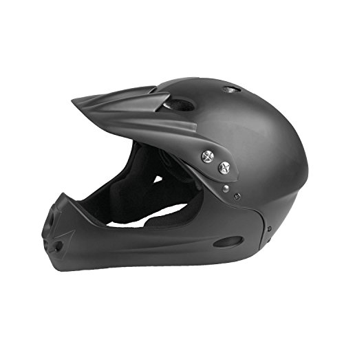 Ventura Downhill Helm, matt schwarz, L (58-62 cm)