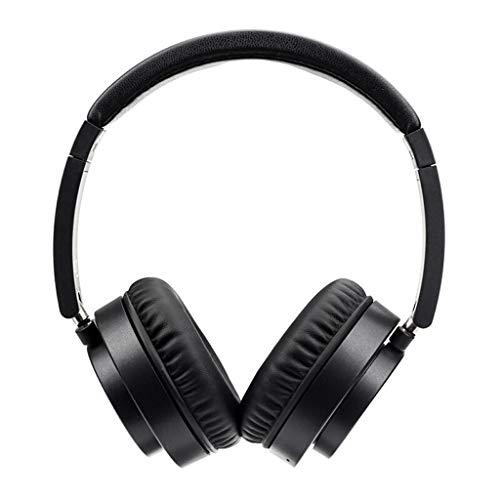 Auriculares Bluetooth con Auriculares, Auriculares estéreo inalámbricos portátiles portátiles, Negro