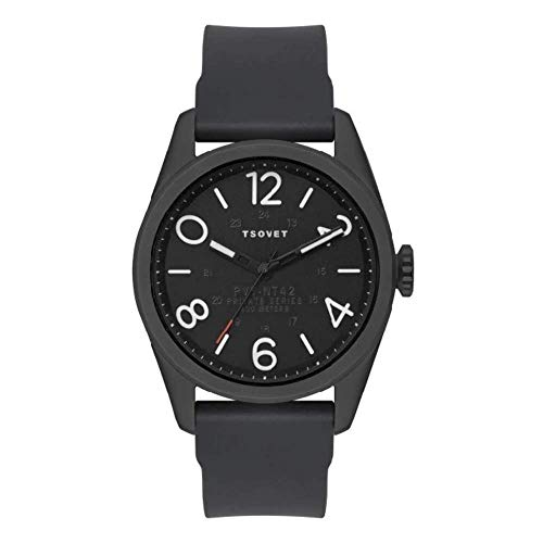Tsovet Watch Black Face with White...