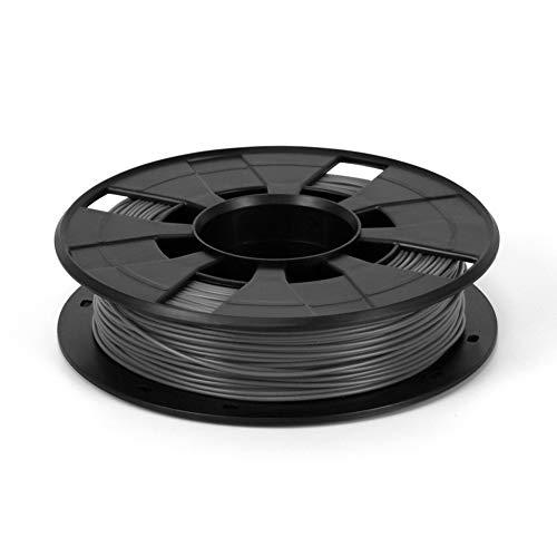 Usongshine Filament PLA 1.75mm, Maßgenauigkeit +/- 0.03 mm, 0,2 kg Spule für 3D-Drucker, grau