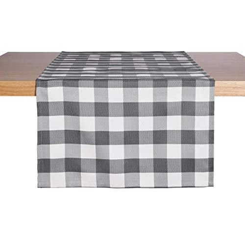 Tischläufer Countryline, 40x130 cm (BxL), grau, 2 Stück/Packung