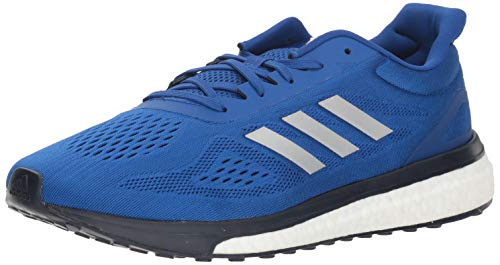 adidas Response Boost LT Zapatilla para correr para hombre, Azul (Collegiate Royal-silver Metallic-white), 44.5 EU
