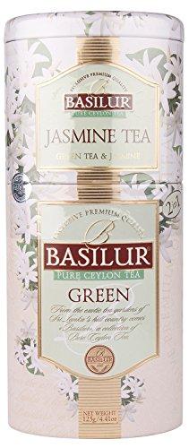 Basilur Jasmintee / Grüner Tee 2 in 1