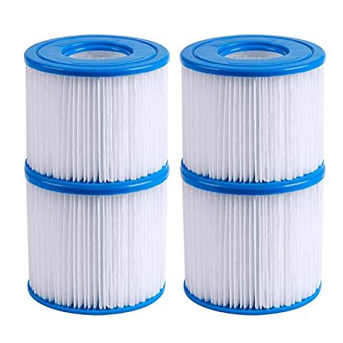 SPFCJL Schwimmbad Filterkassette Universal Dauerhaft Waschbare Wiederverwendbare Pool Pump Filter Reiniger Zubehör (Color : 4pcs)