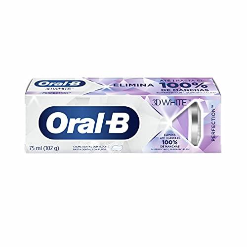 Creme Dental Clareador Oral-B 3D White Perfection 102g