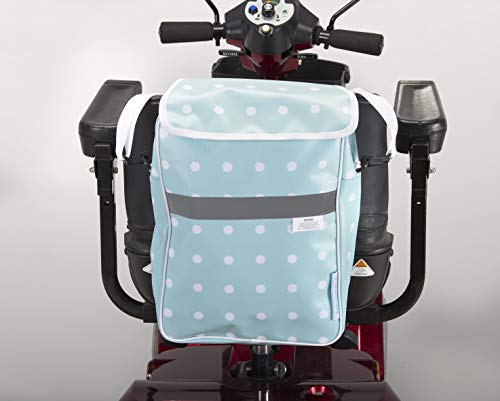 Ducksback Deluxe Mobility Scooter Bag Polka Dot