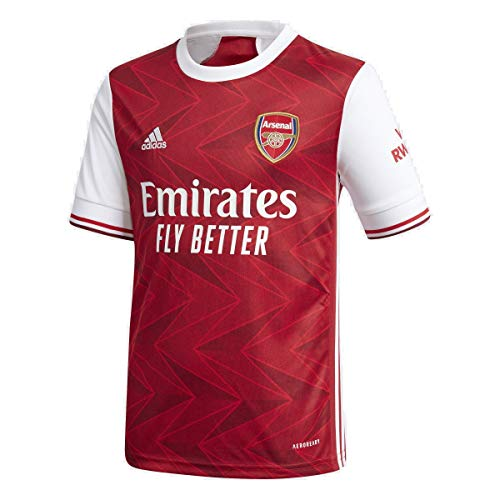 adidas 2020-21 Arsenal Youth Home Jersey - Red-White YM